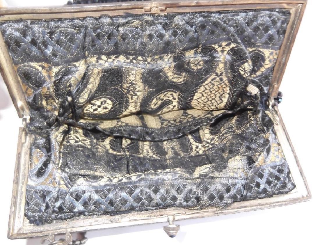Vintage beaded purse - 4