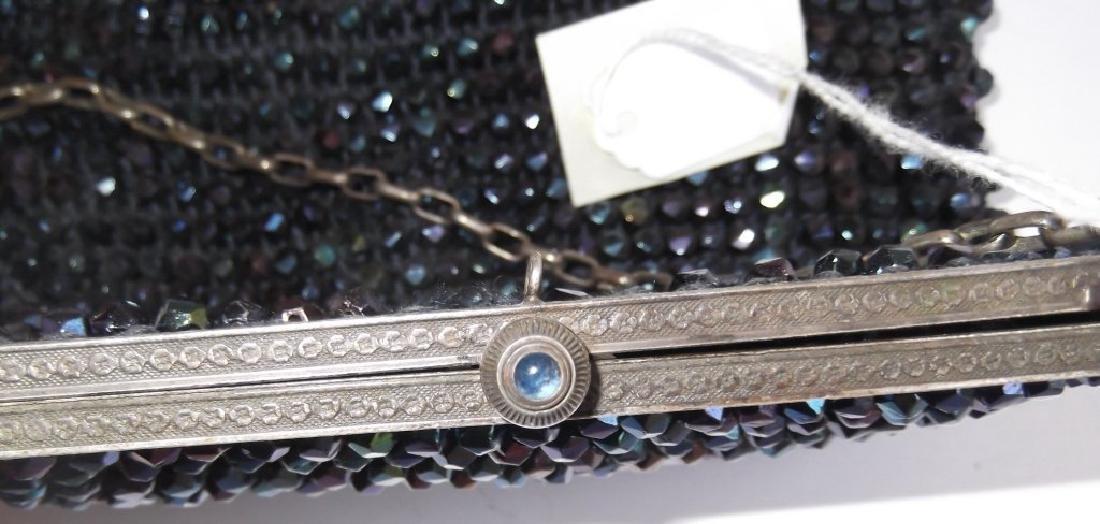 Vintage beaded purse - 5