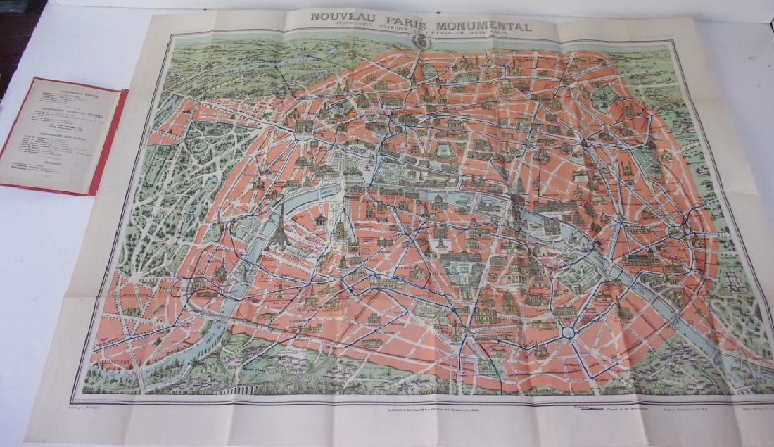 9 piece Paris paper  lot of booklets/brochures - 2