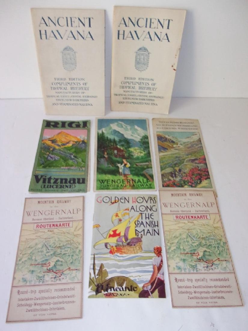 8 piece map lot