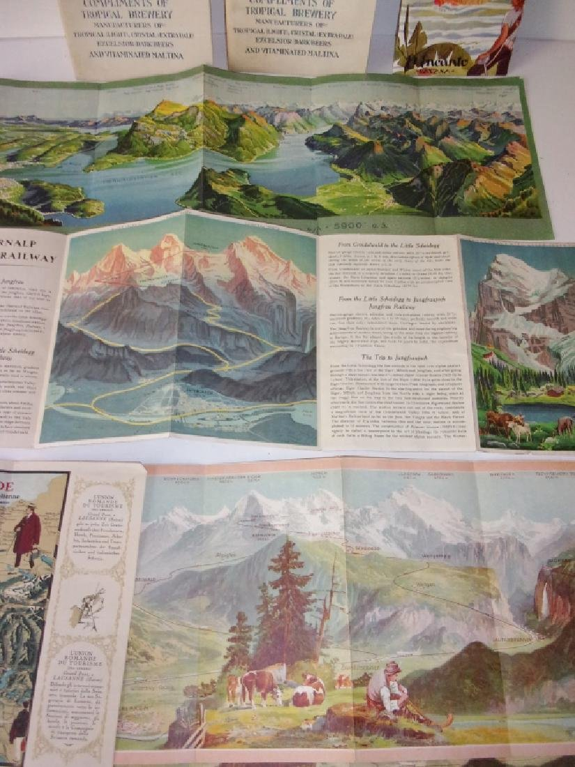 8 piece map lot - 2
