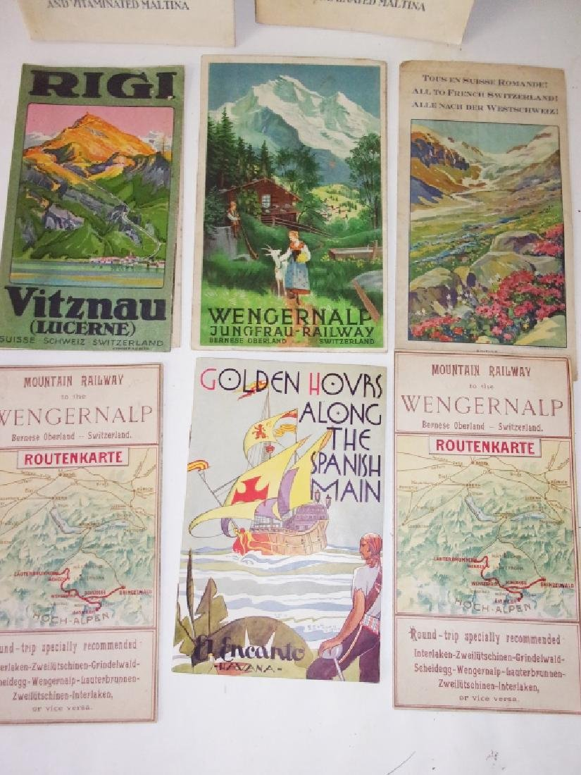 8 piece map lot - 3