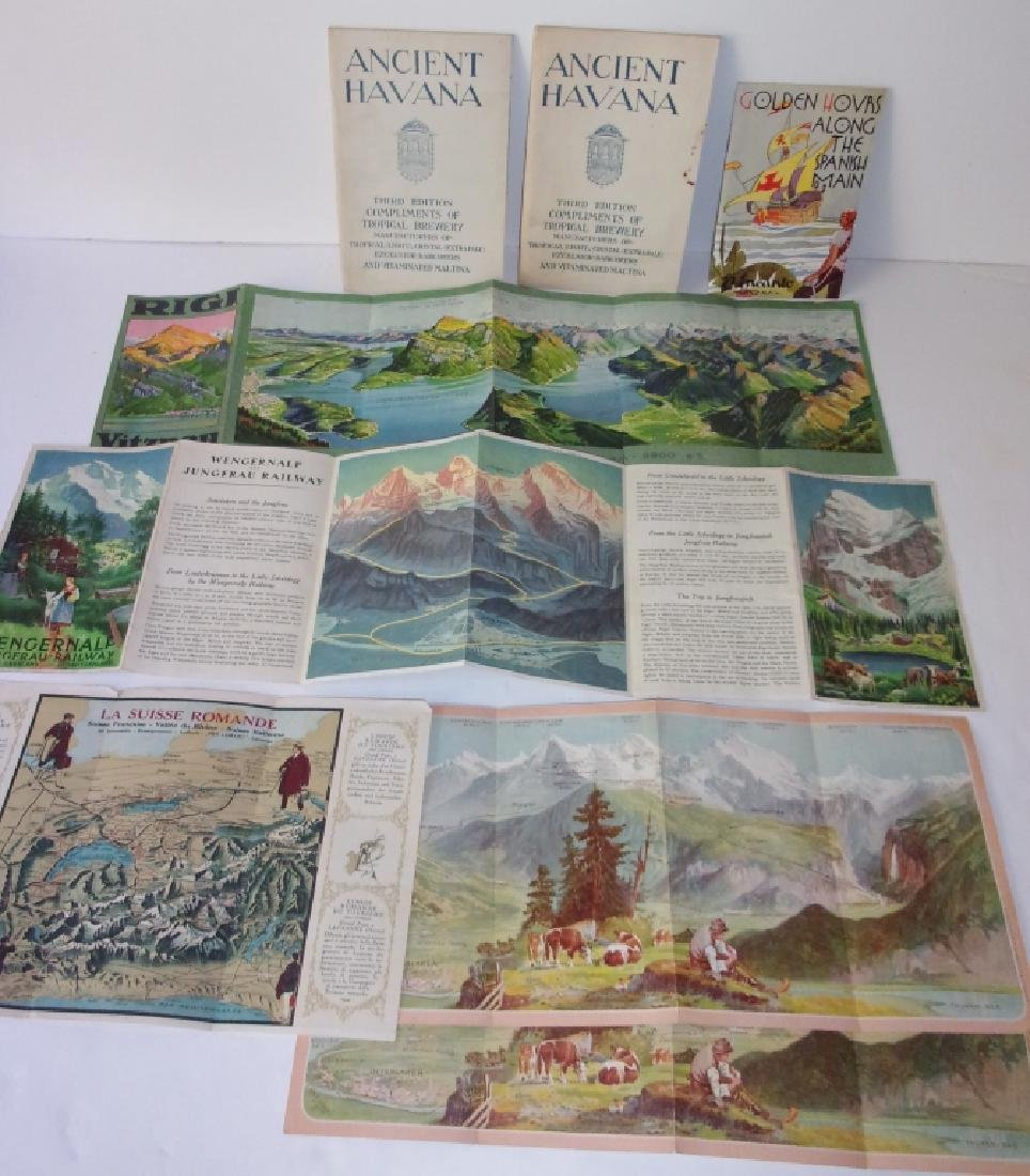 8 piece map lot - 4