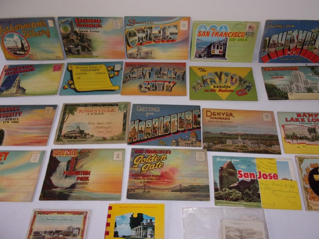 Collection of 23 souvenir postcards - 2