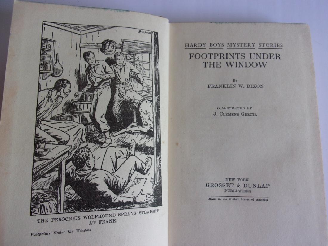 12 1930's Hardy Boys books - 3