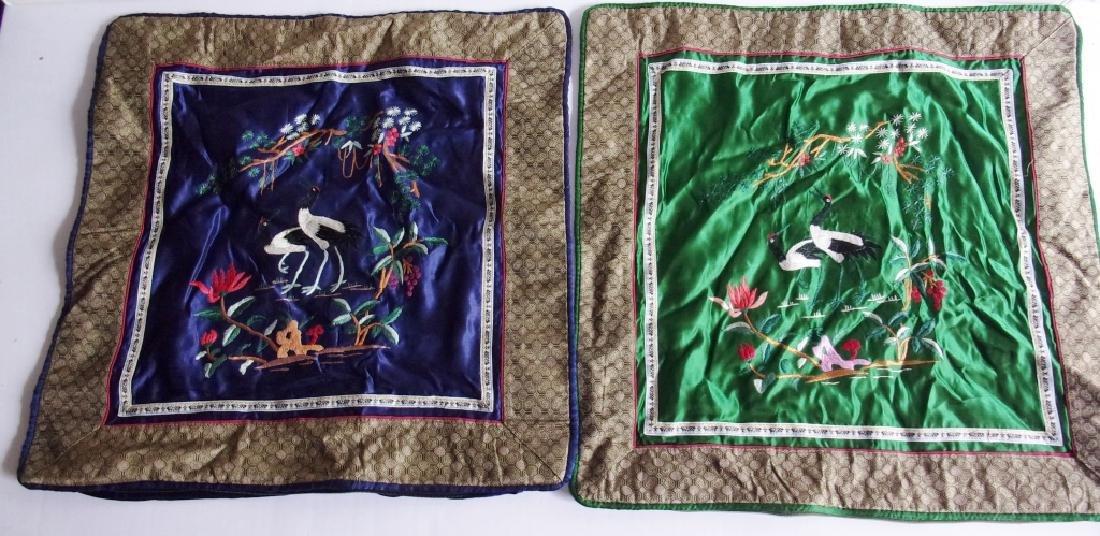 5 vintage pillow cases - 2