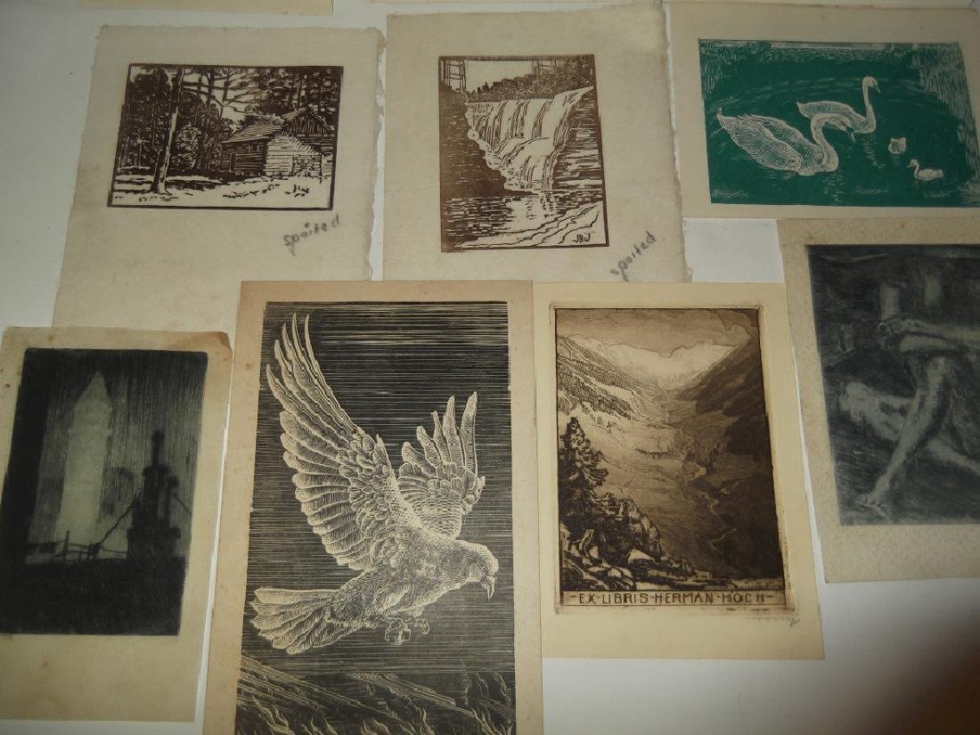 11 woodblock prints - 3