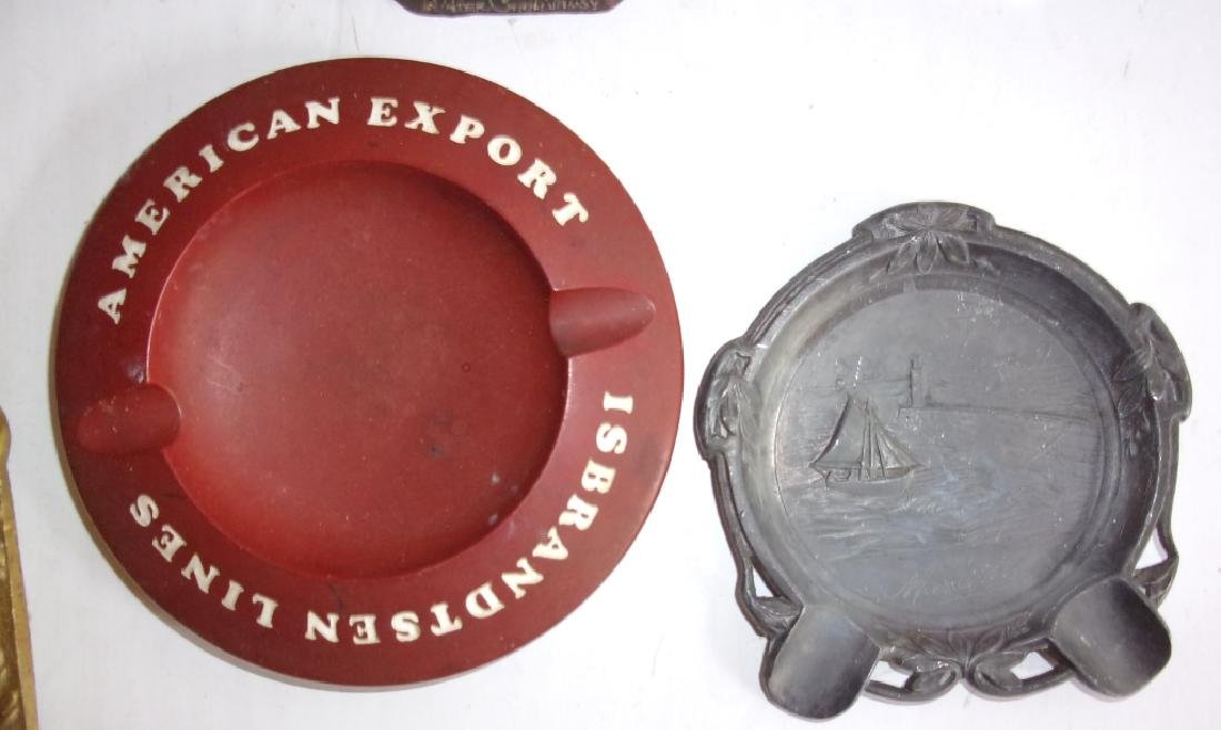 7 antique & vintage advertising ashtray - 2