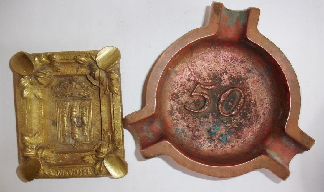 7 antique & vintage advertising ashtray - 3