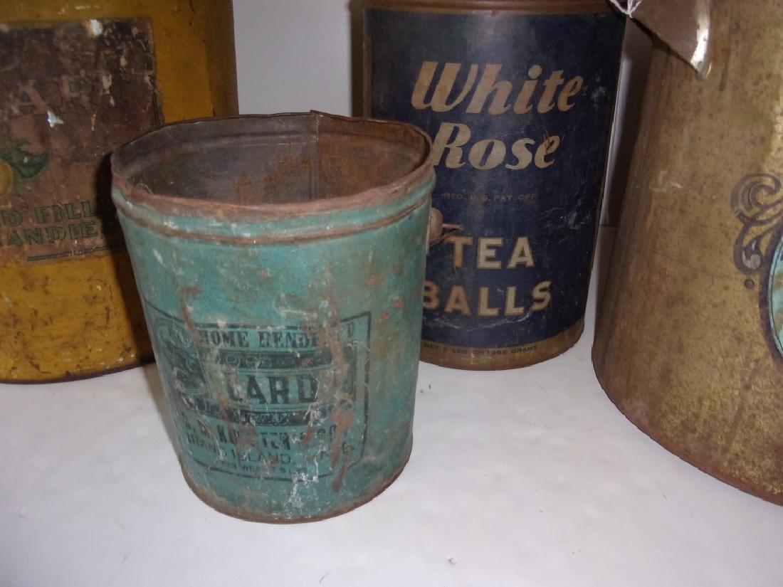 4 vintage tins - 2
