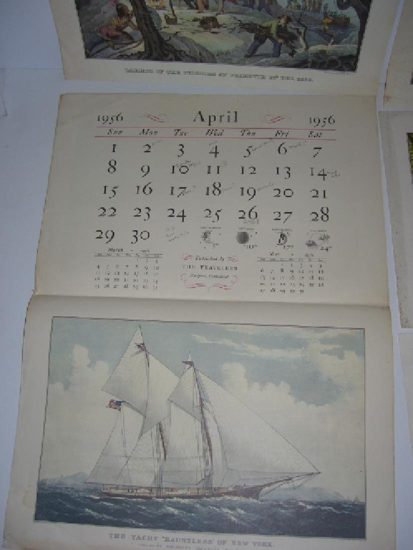 23 Currier & Ives calendar top prints - 10