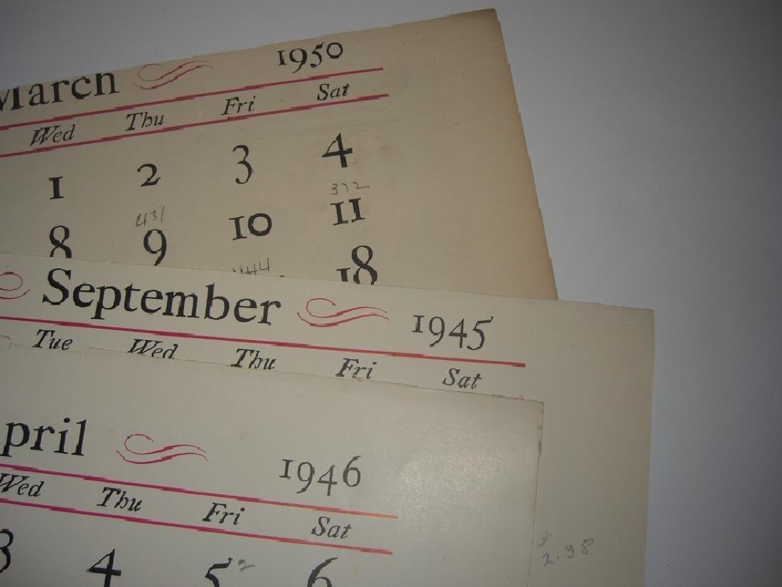23 Currier & Ives calendar top prints - 10