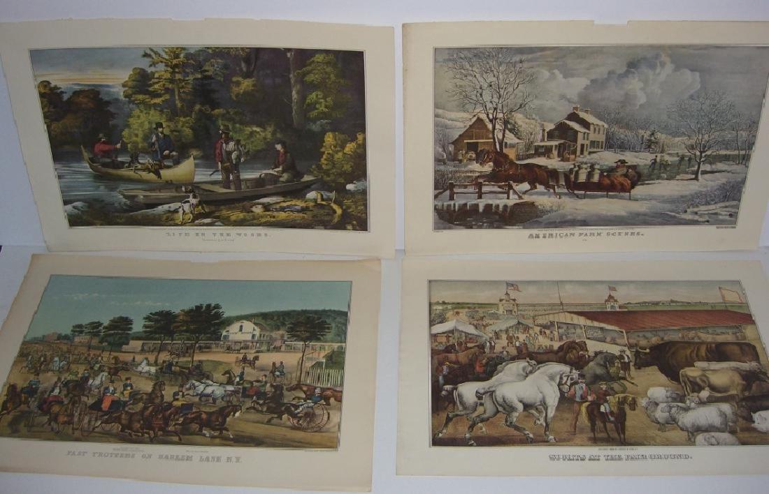 23 Currier & Ives calendar top prints - 6