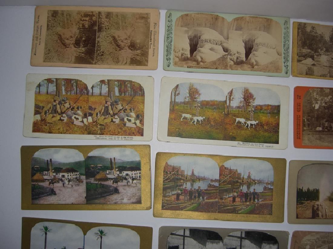 48 Stereoscope view Cards - 10