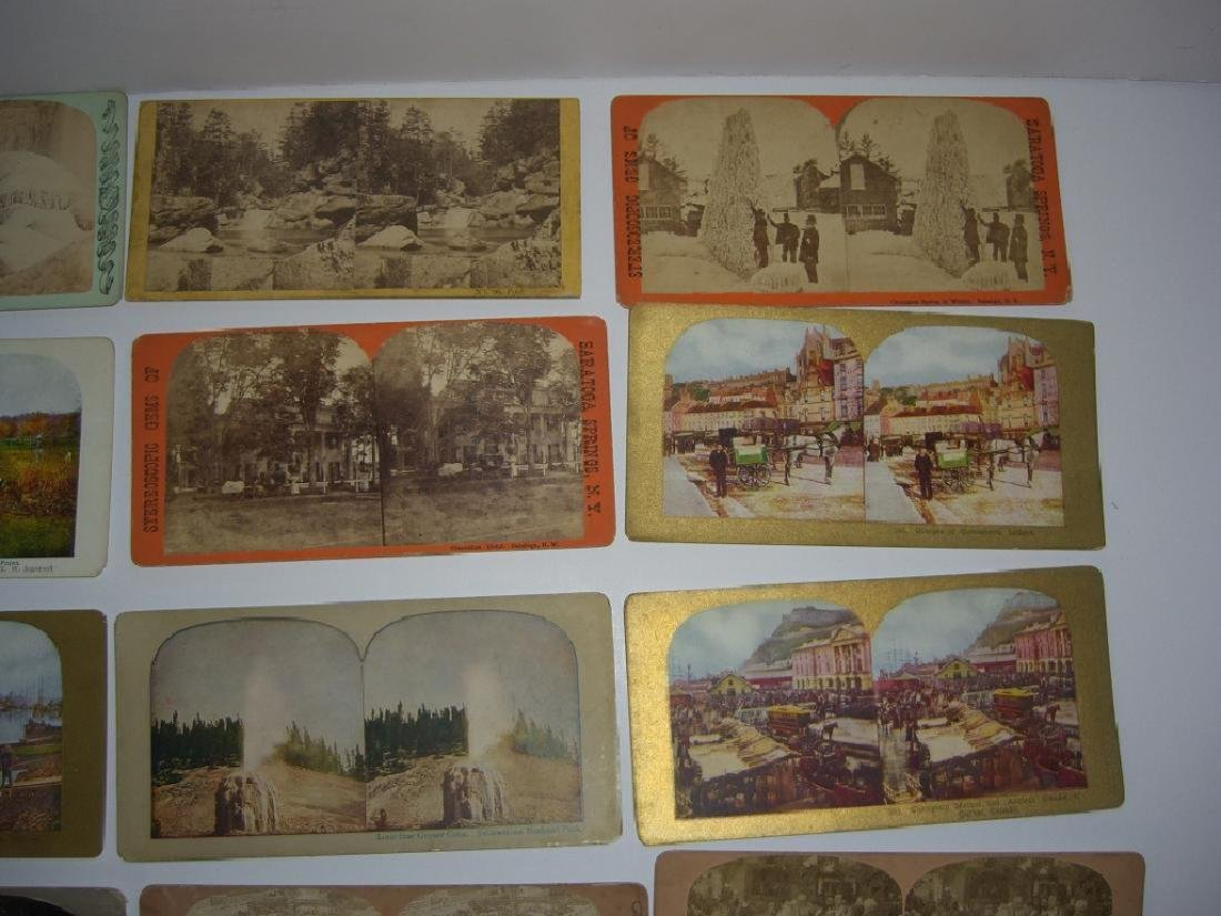 48 Stereoscope view Cards - 2