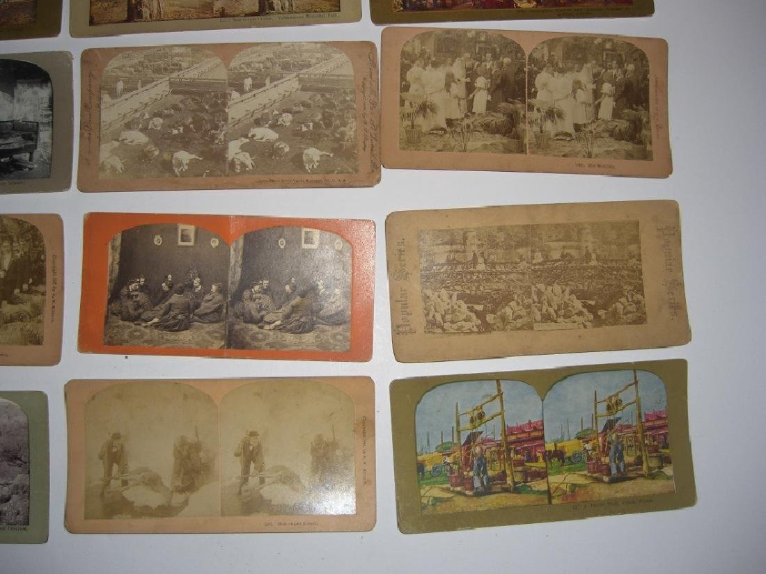48 Stereoscope view Cards - 3