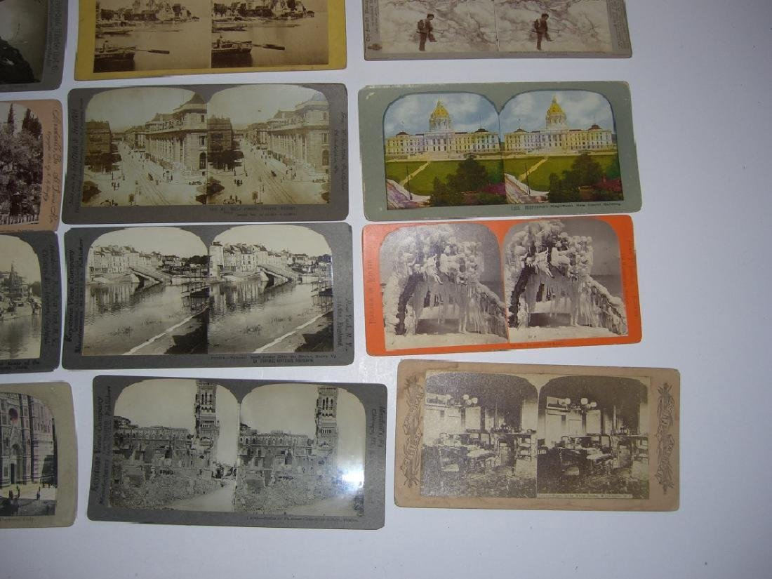 48 Stereoscope view Cards - 7