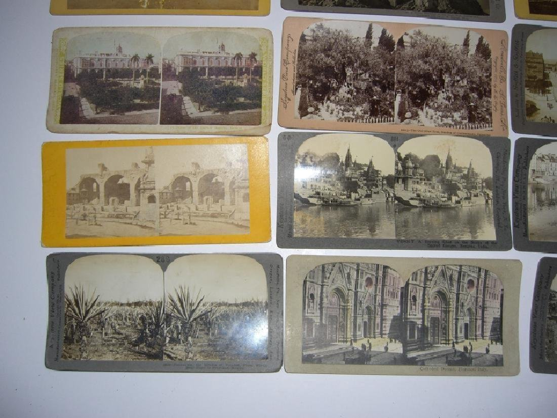 48 Stereoscope view Cards - 8