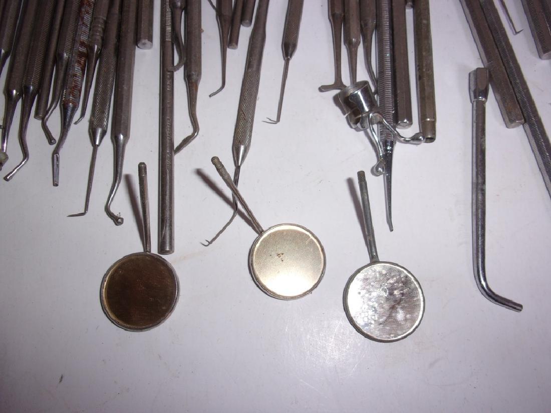 55 pieces of vintage dental tools - 2