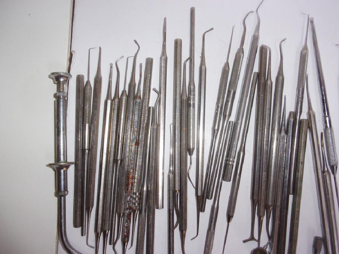 55 pieces of vintage dental tools - 4