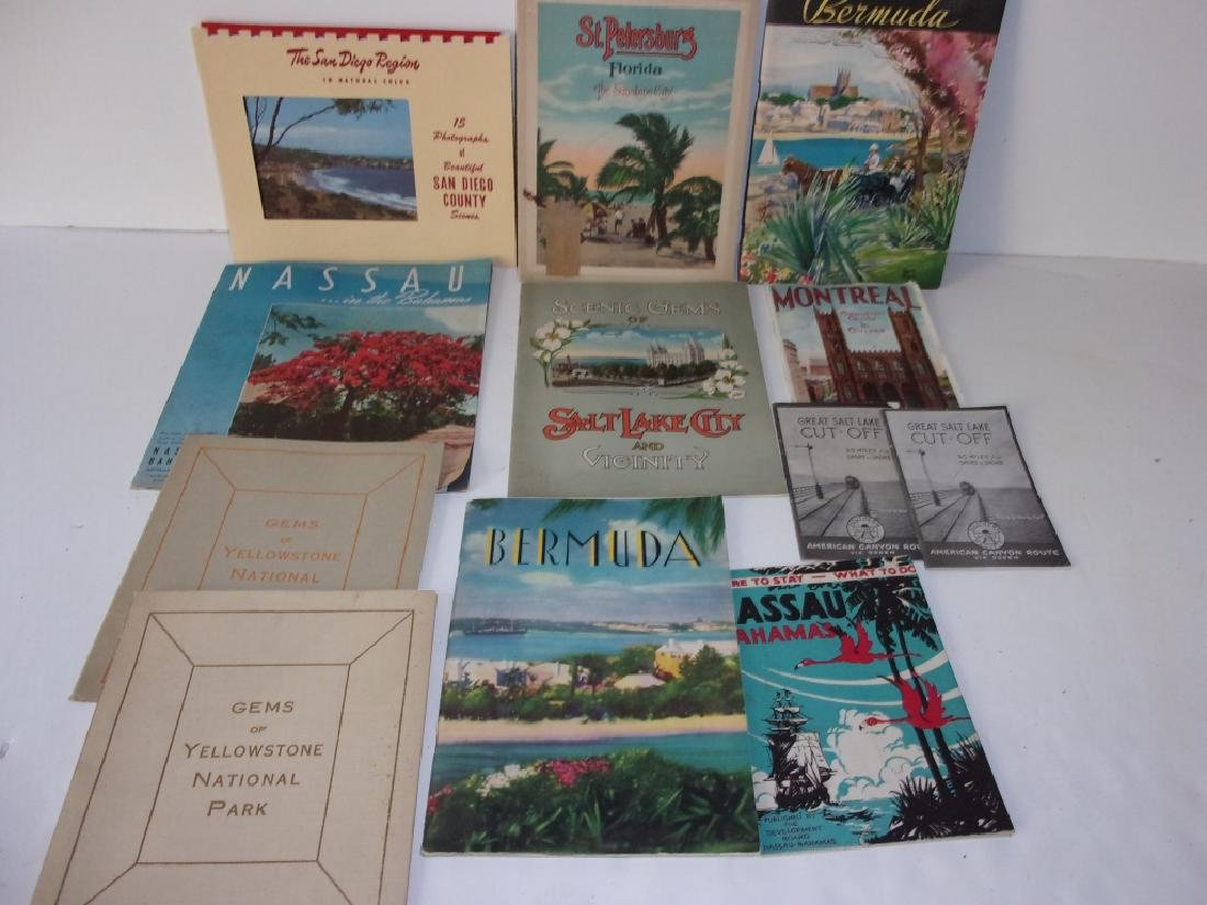 12 piece  paper  lot of booklets/brochures