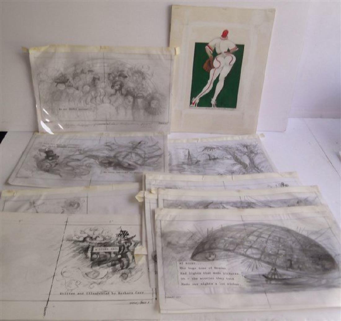 Original art illustrations by Barbara Carr
