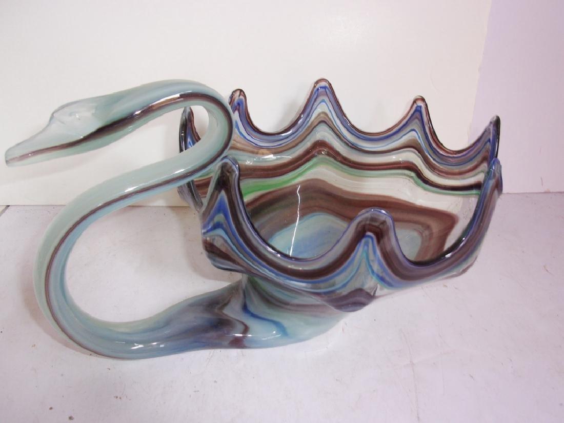 3 piece art glass lot - 3