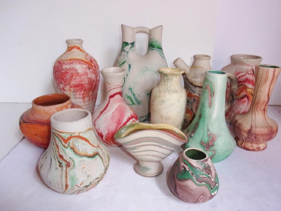 12 piece pottery lot