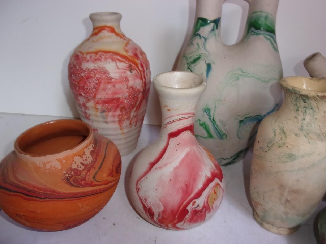 12 piece pottery lot - 2