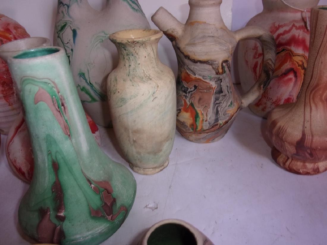12 piece pottery lot - 3
