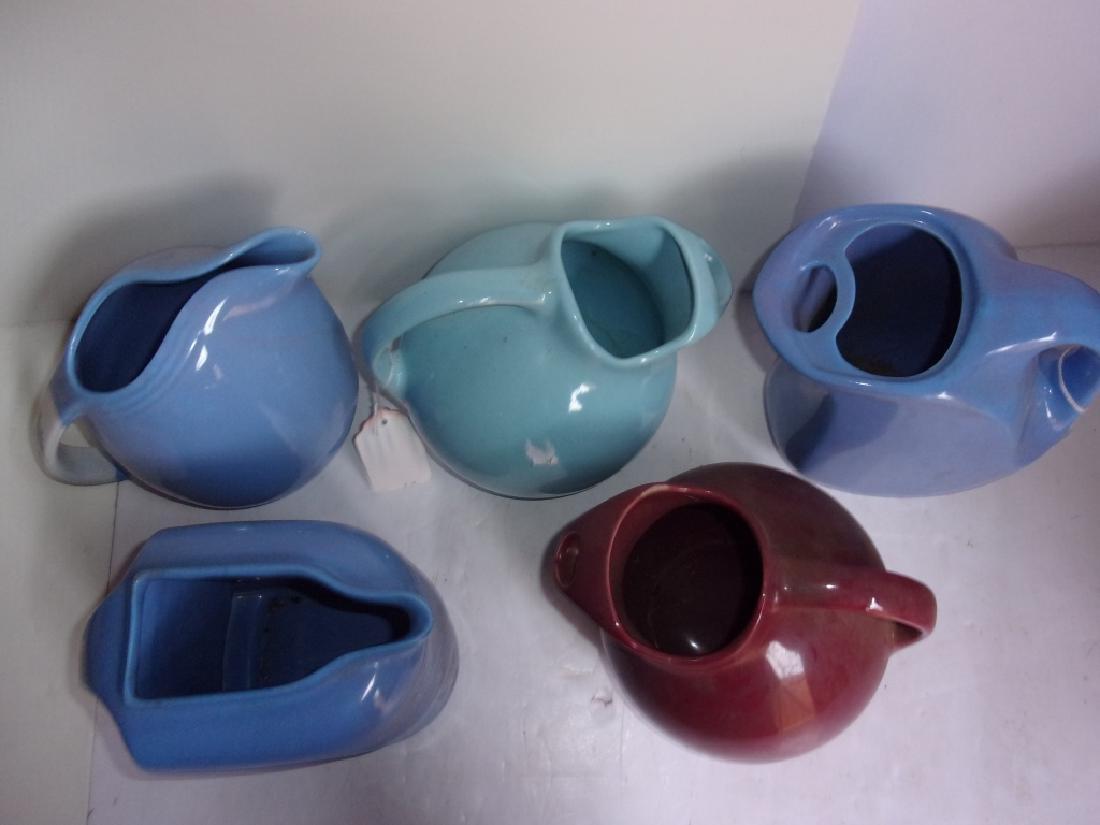 5 c.1930 pitchers - 2