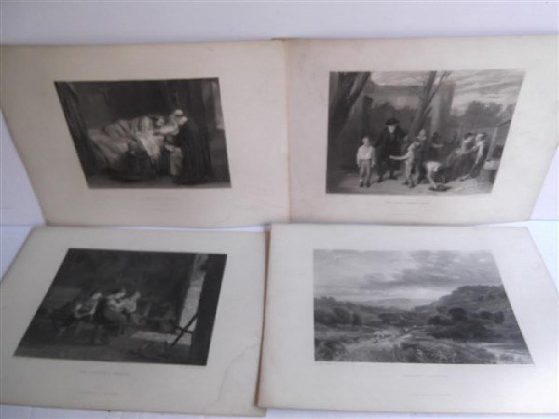 20 antique engravings - 6