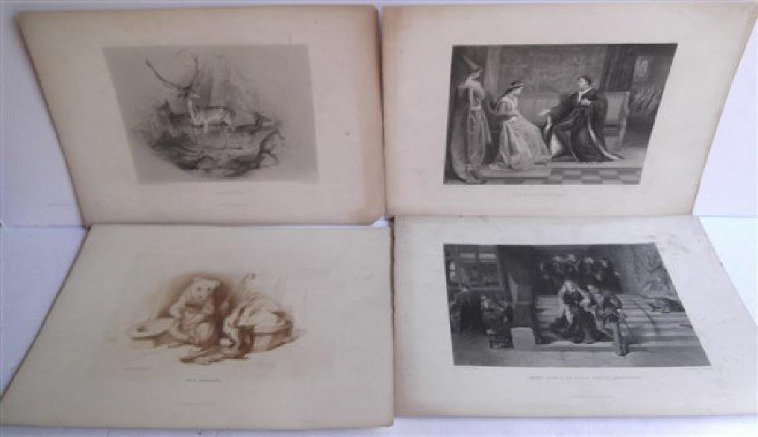 20 antique engravings - 7