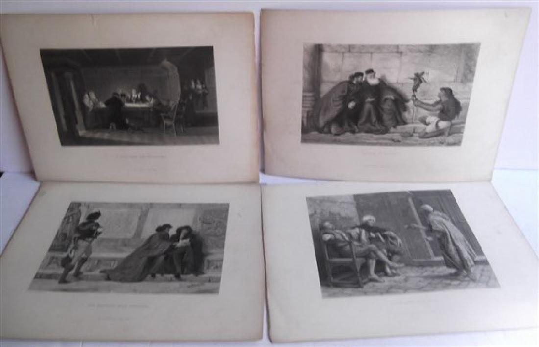 20 antique engravings - 8