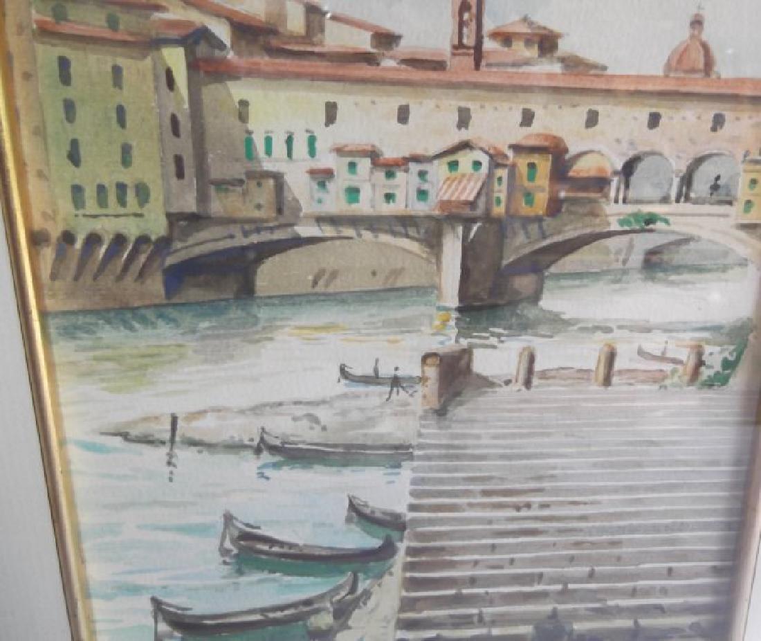 2 Venice scene watercolors - 2