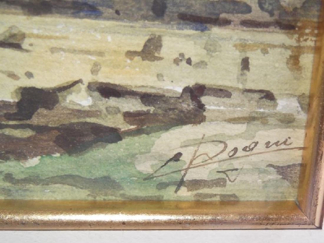 2 Venice scene watercolors - 5
