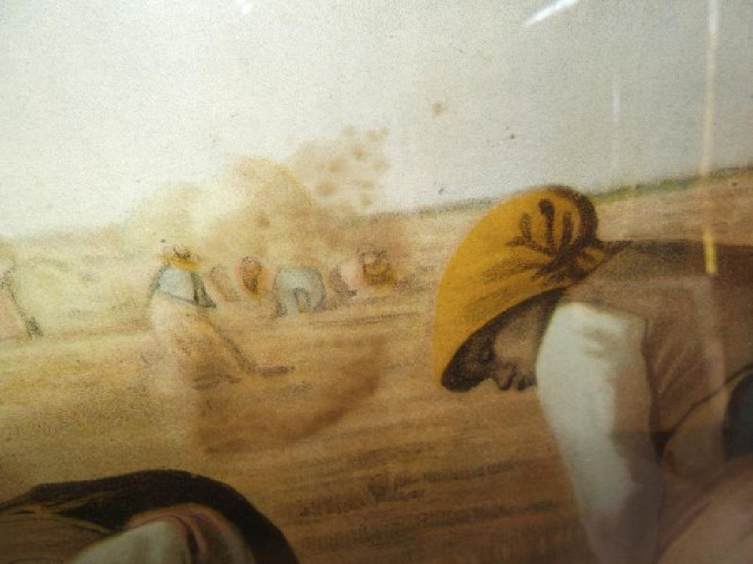 "19th century print  ""The Gleaners"" - 9"