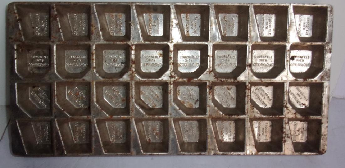 4 vintage chocolate molds - 2