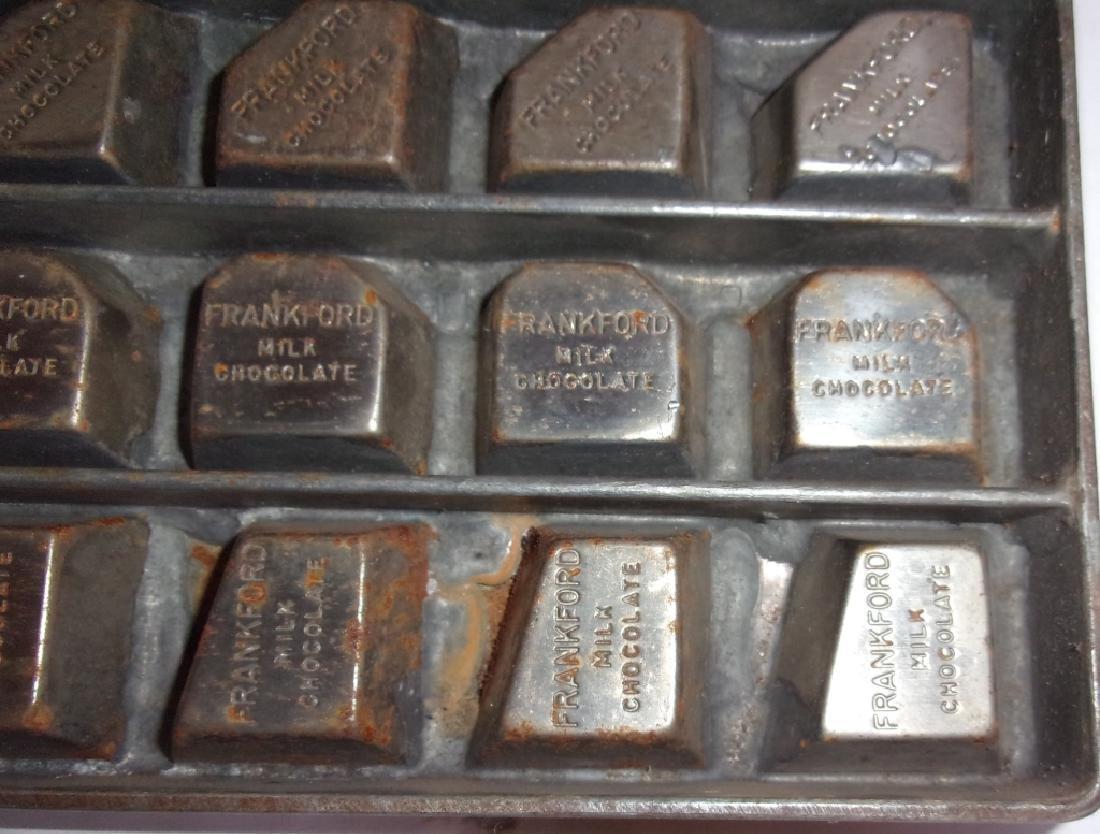 4 vintage chocolate molds - 4