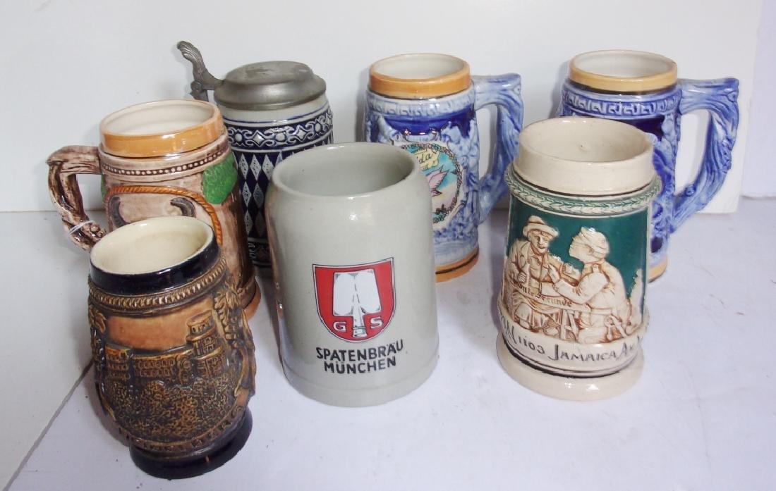 7 beers Steins/mugs