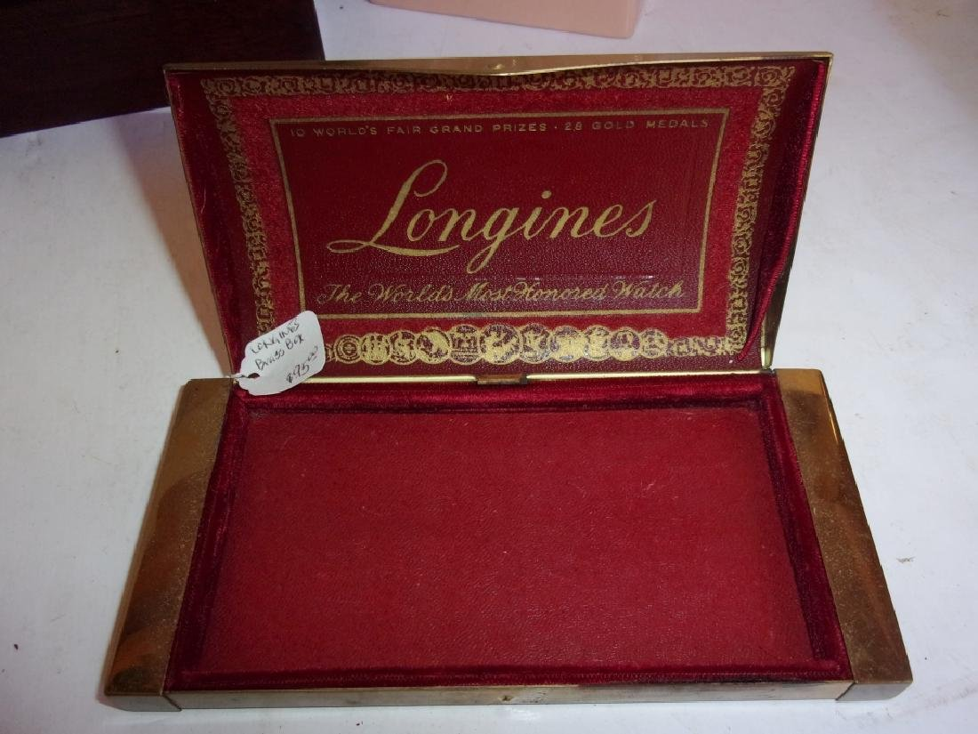 8 vintage boxes/jewelry boxes - 5