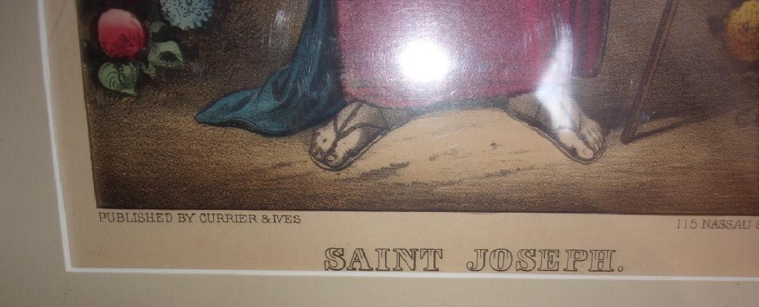 3 hand colored etchings/engravings - 4