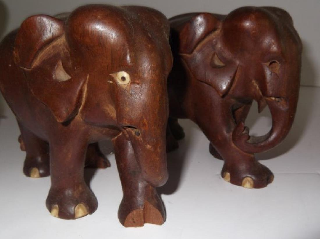 Collection of 10 elephant figures - 8
