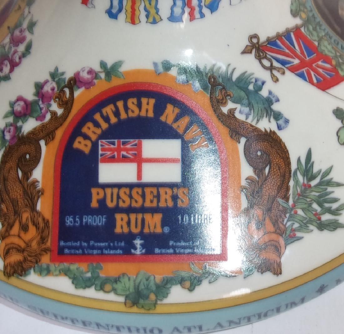 British Navy pusser's rum bottle - 2