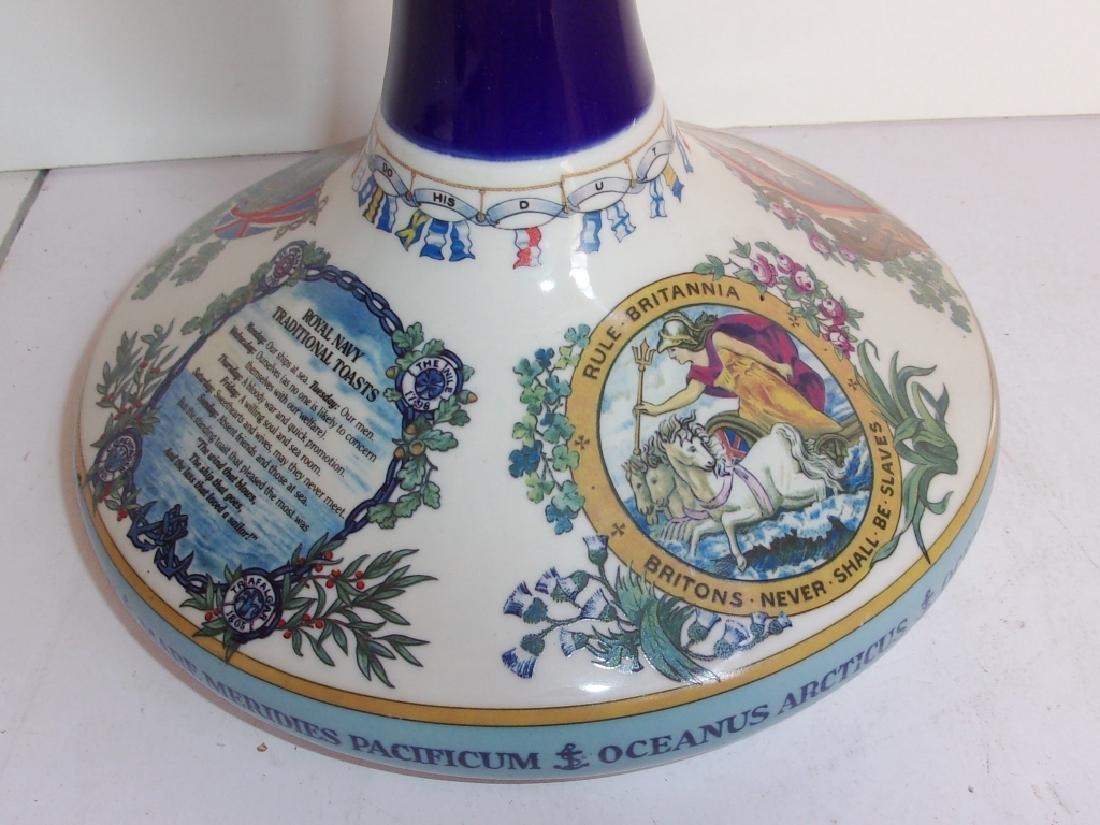 British Navy pusser's rum bottle - 3