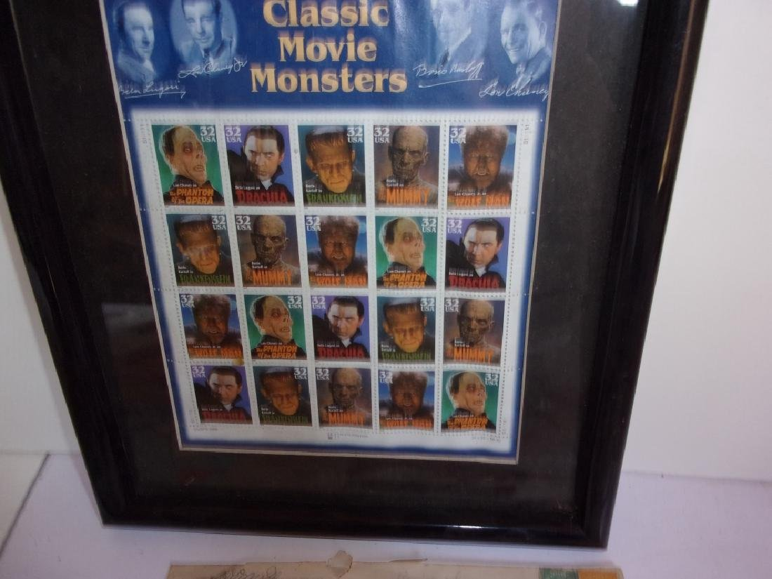 Collection of assorted used and unused stamps - 2
