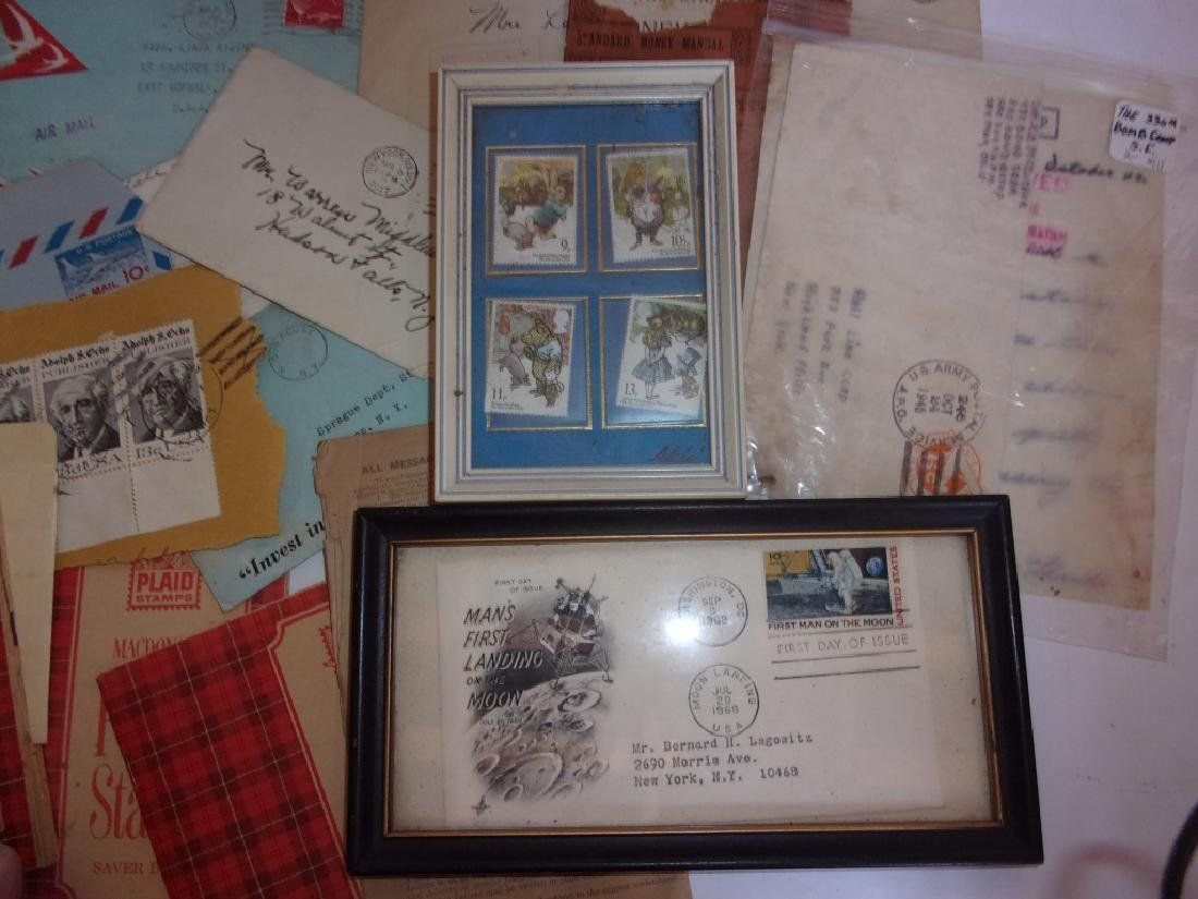 Collection of assorted used and unused stamps - 3