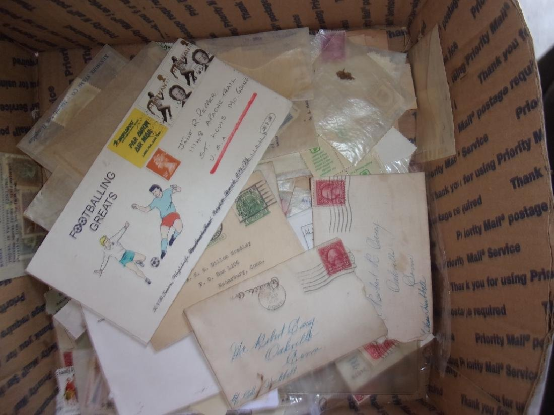 Collection of assorted used and unused stamps - 4