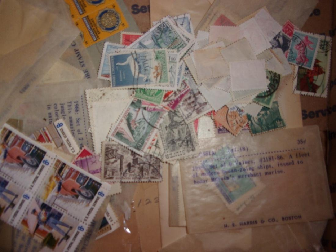 Collection of assorted used and unused stamps - 6