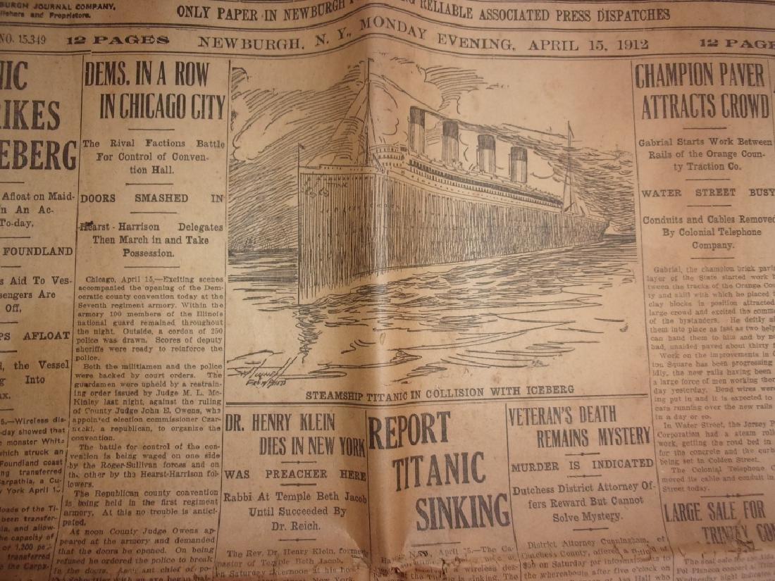 1912 Newburgh New York Journal newspaper - 3